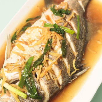 Hong Kong Style Sea Bass
