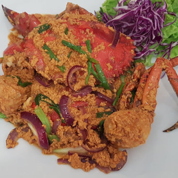 Thai Red Curry Crab
